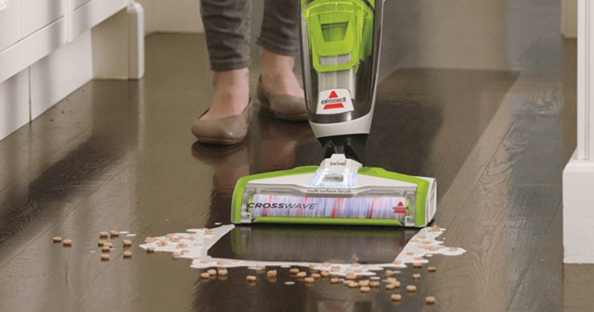 Bissell CrossWave Wet/Dry Vac from $131.99 Shipped + Get $20 Kohl's Cash (Regularly $320)
