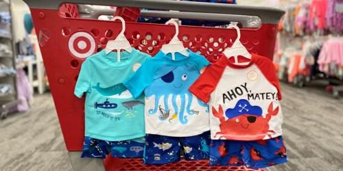 Cat & Jack Swim Shorts, Rashguards & More as Low as $7.49 Each on Target.com