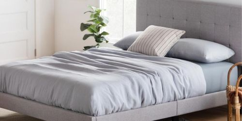 Up to 40% Off Upholstered Bed Frames at Home Depot + Free Shipping