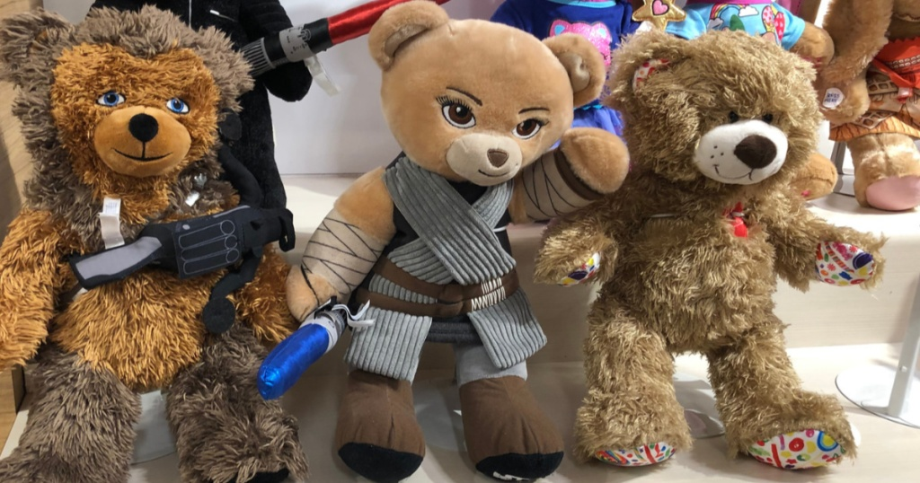 Star Wars Rey Bear at Build A Bear