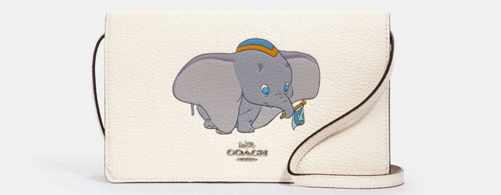 Coach purse with Dumbo on it