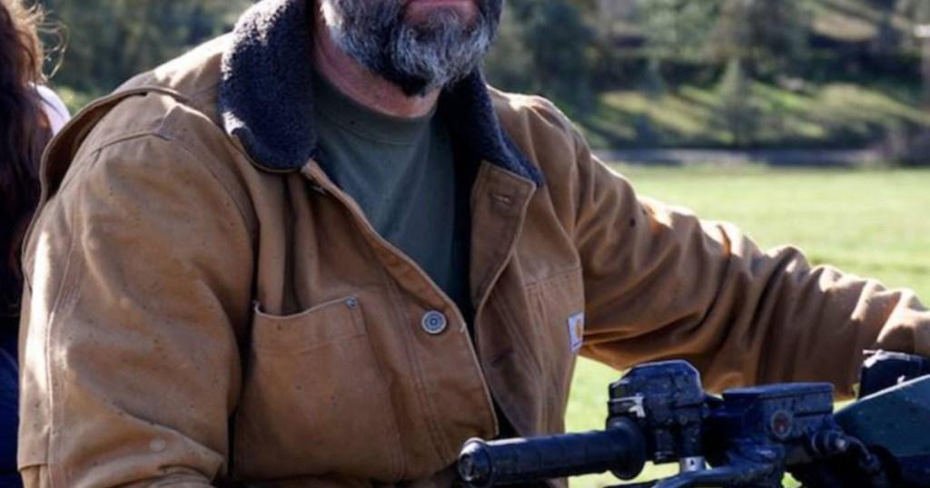 Man on 4 wheeler wearing Carhartt Men's Jackets (1)
