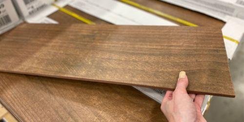 Hardwood Look Ceramic Tile ONLY 79¢ Per Square Foot at Lowe's