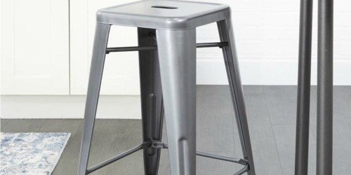 Trendy Metal Counter Stool Only $19.99 at Lowe's (Regularly $60)
