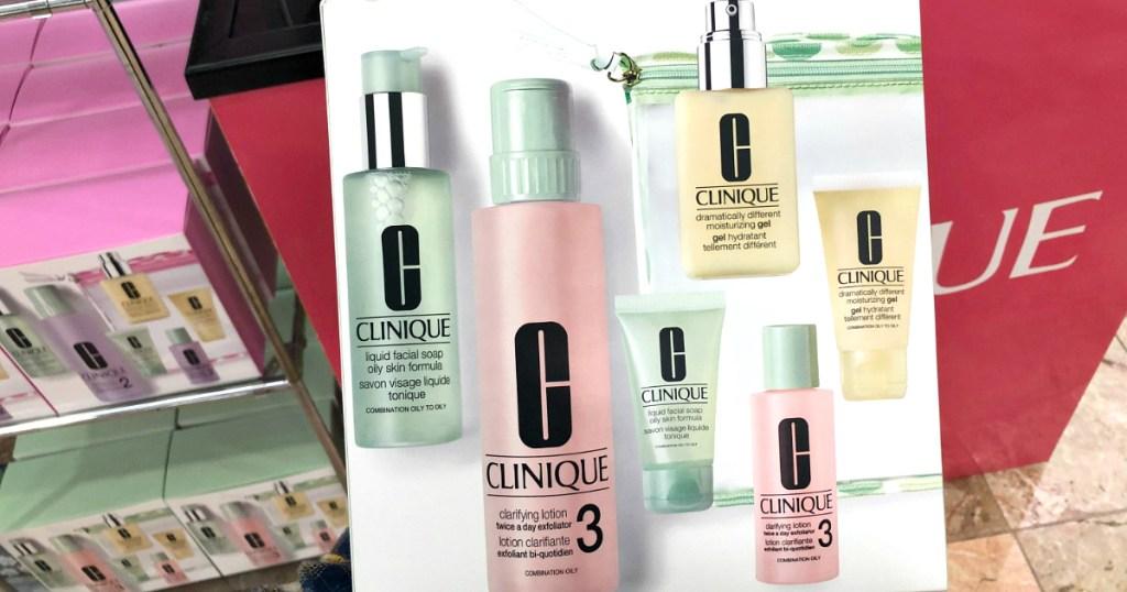 Clinique 7-piece beauty set