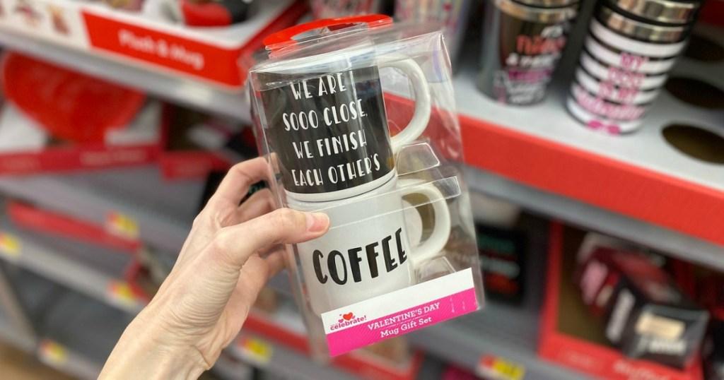 We are so close we finish each others coffee mug set
