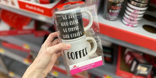 Valentine's Coffee Mug Set Just $3.98 at Walmart | More Inexpensive Gift Ideas