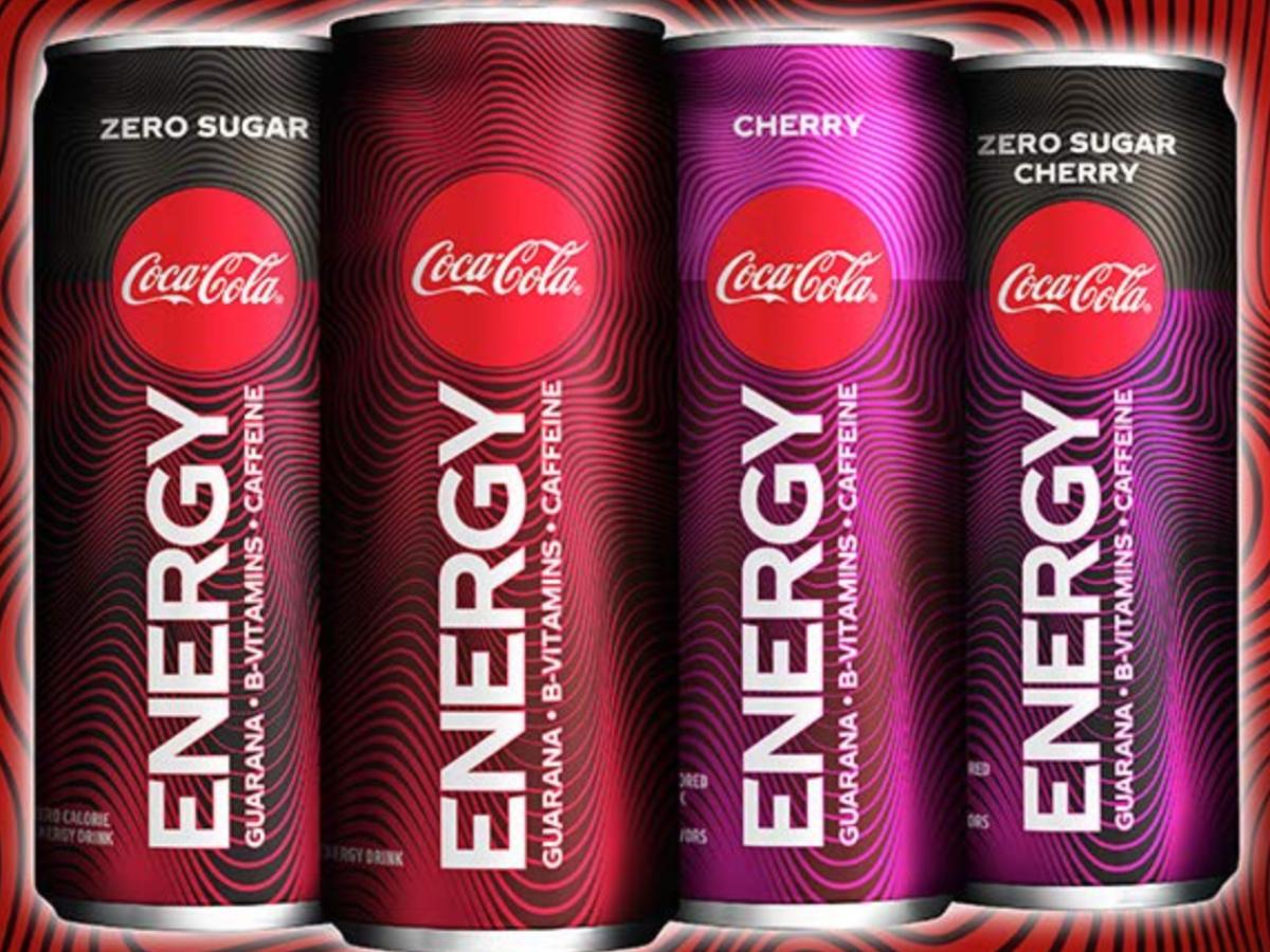 Coke Energy Cans
