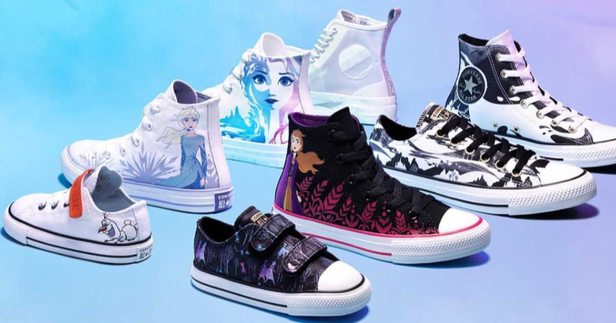 frozen themed converses