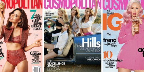 TWO-Year Complimentary Cosmopolitan Magazine Subscription