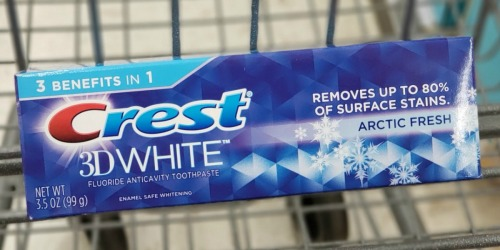 Crest Toothpaste Just 49¢ Each on Walgreens.com