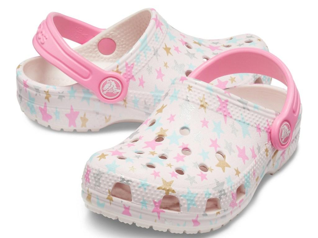 Pink kids clog