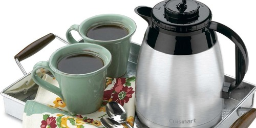 Cuisinart Thermal Coffeemaker Only $33 at JCPenney (Regularly $130)