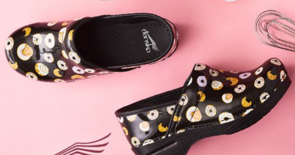 women's nursing shoes that have donuts on them