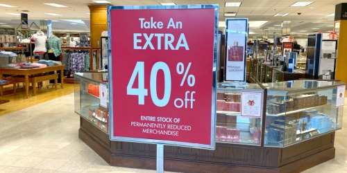Extra 40% Off Dillard's Clearance Apparel, Accessories & Footwear