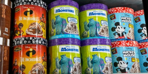 Ice Cream Inspired by Disney Pixar Movies Is Coming to a Grocer Near You!