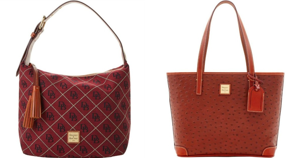 two Dooney & Bourke bags