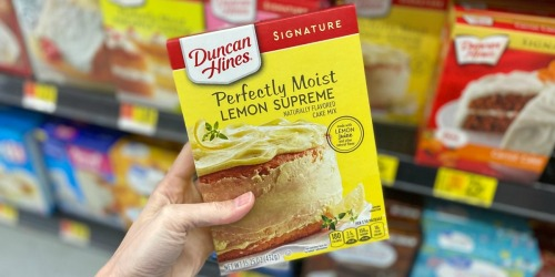 Up to 80% Off Duncan Hines Cake & Brownie Mixes at Walmart