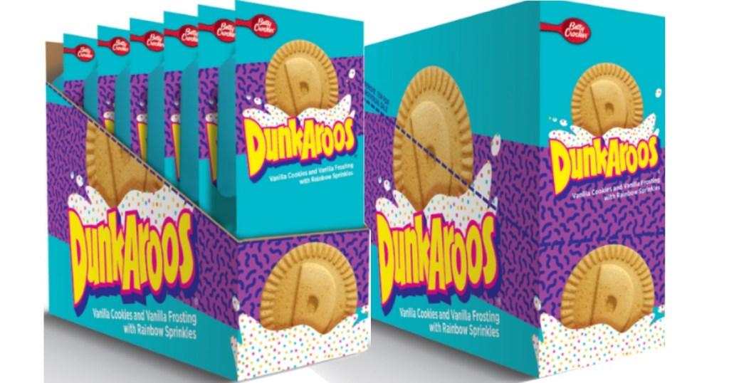 Dunkaroos Snacks shown in packages