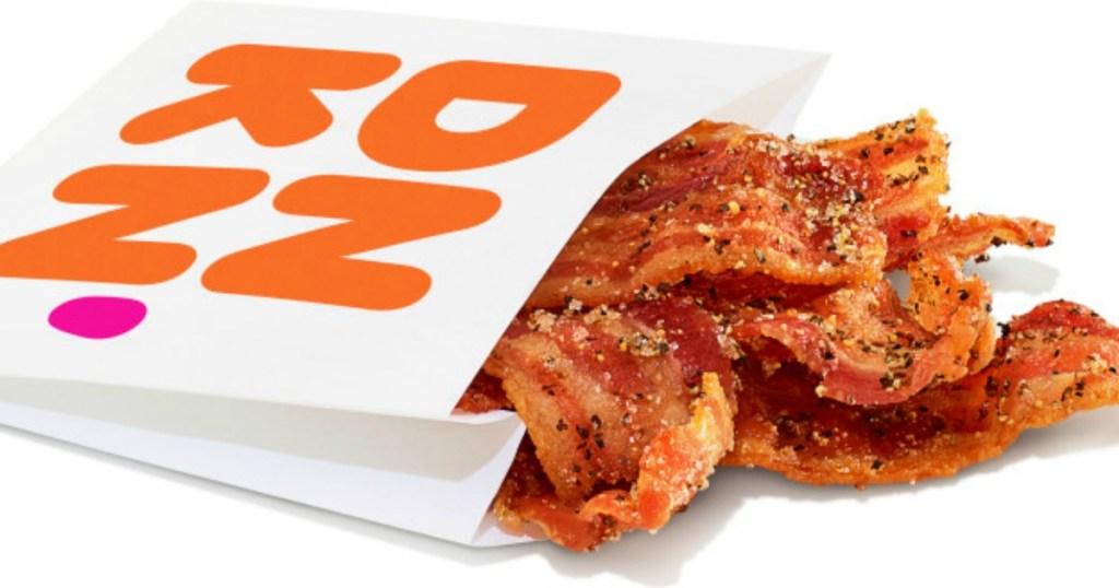 Dunkin Snackin' Bacon