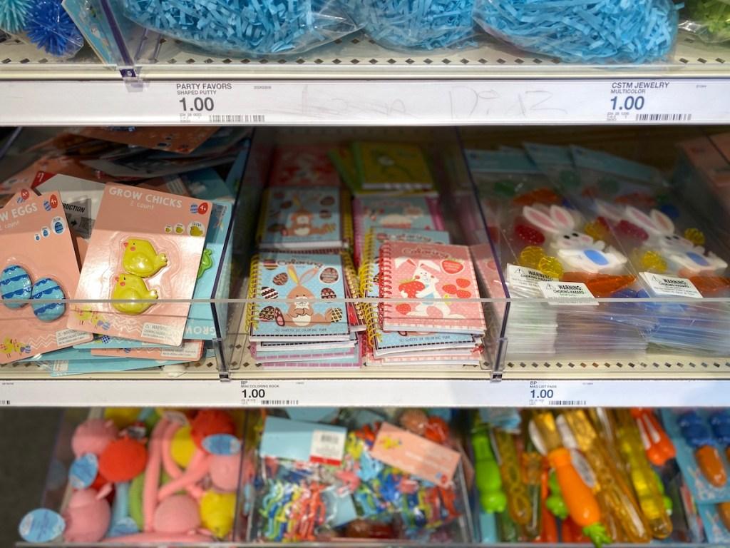 Easter items at Target Dollar Spot