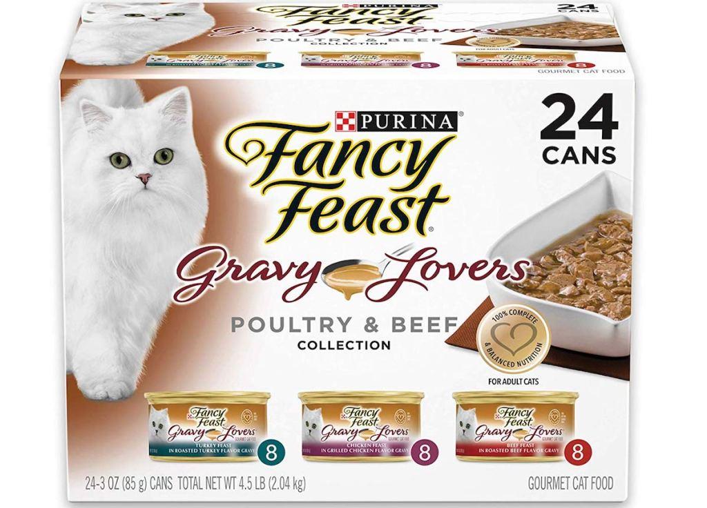 Fancy Feast Variety Pack box