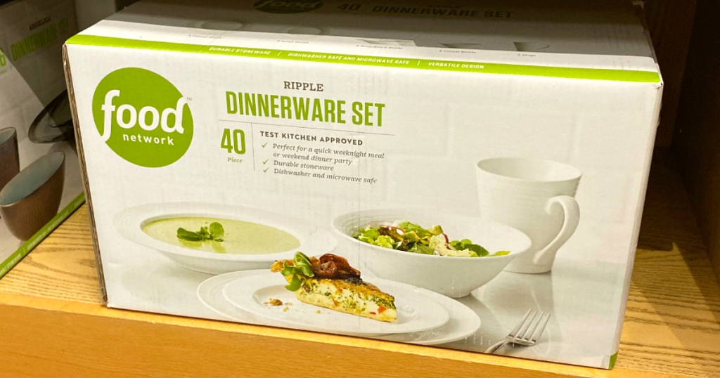Food Network dinnerware set