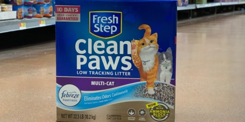 Fresh Step Advanced Cat Litter 18.5-Pound Box Only $9.97 Shipped at Amazon + More