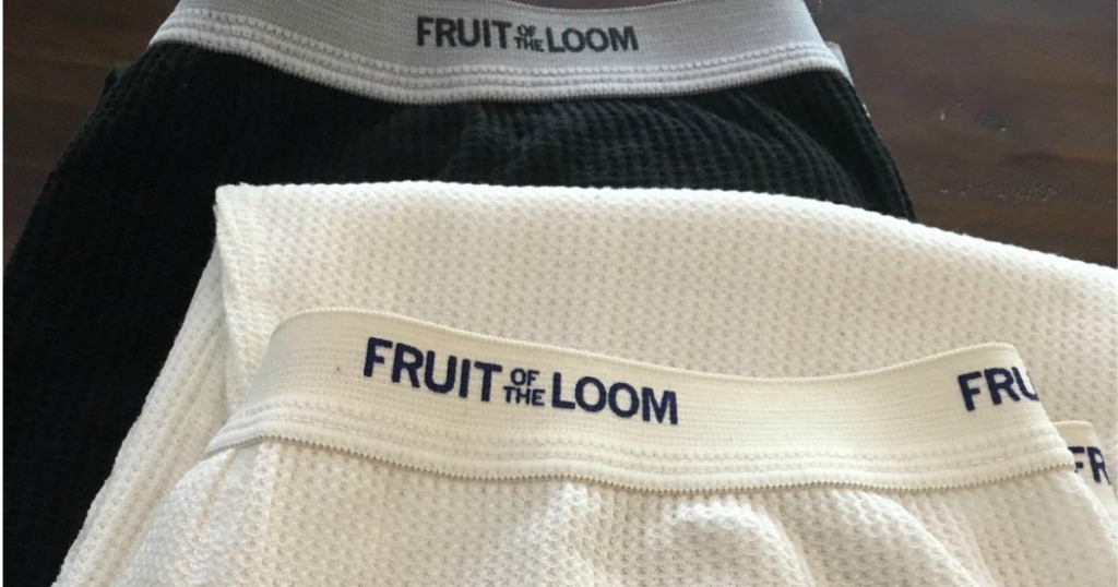 waist band on thermal pants