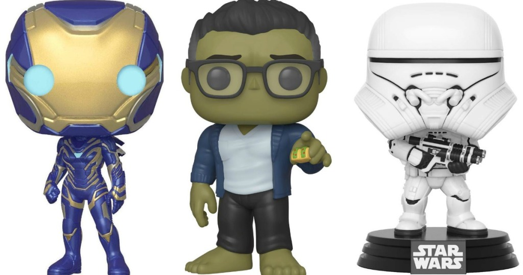 Funko Rescue, Hulk with Taco and Stormtrooper figures