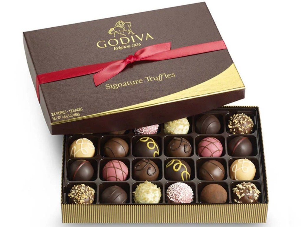GODIVA 24-Piece Signature Truffle Gift Box