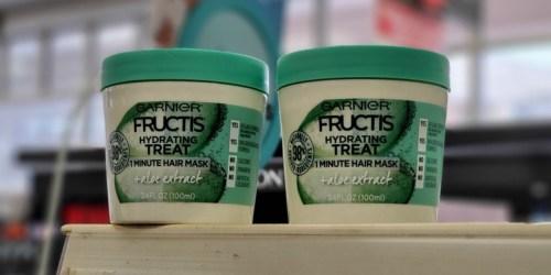 Garnier Fructis Hydrating Treat Mask Only 50¢ Each After CVS Rewards (Starting 3/1)