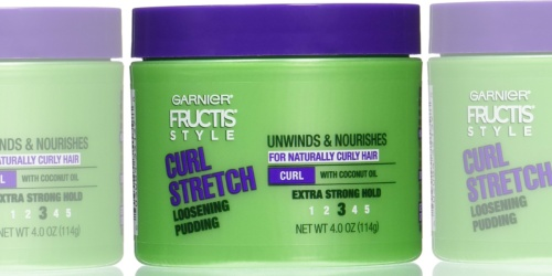 Garnier Fructis Curl Stretch Loosening Pudding Just $2 Shipped Or Less at Amazon