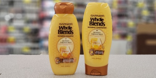 Garnier Whole Blends or Fructis Hair Care from 67¢ Each at Walgreens
