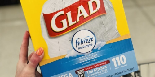 Glad Tall Kitchen Trash Bags 110-Count Just $10.64 Shipped or Less on Amazon