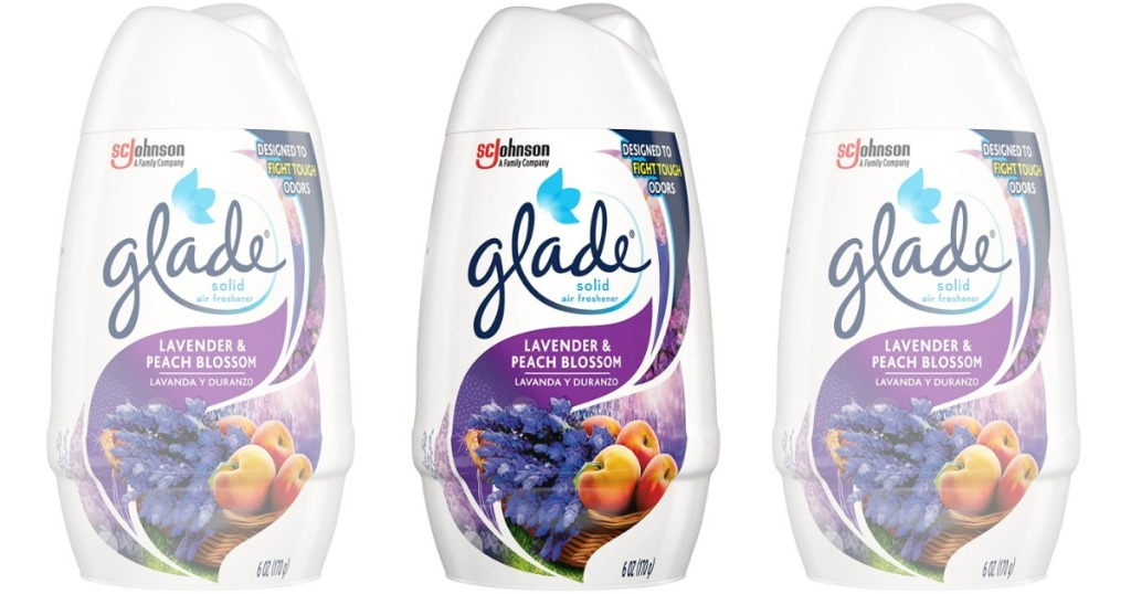 Glade Solid Air Freshener in Lavender & Peach Blossom