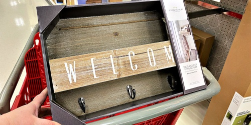 Rustic Welcome Mail Station Only $11 at Target
