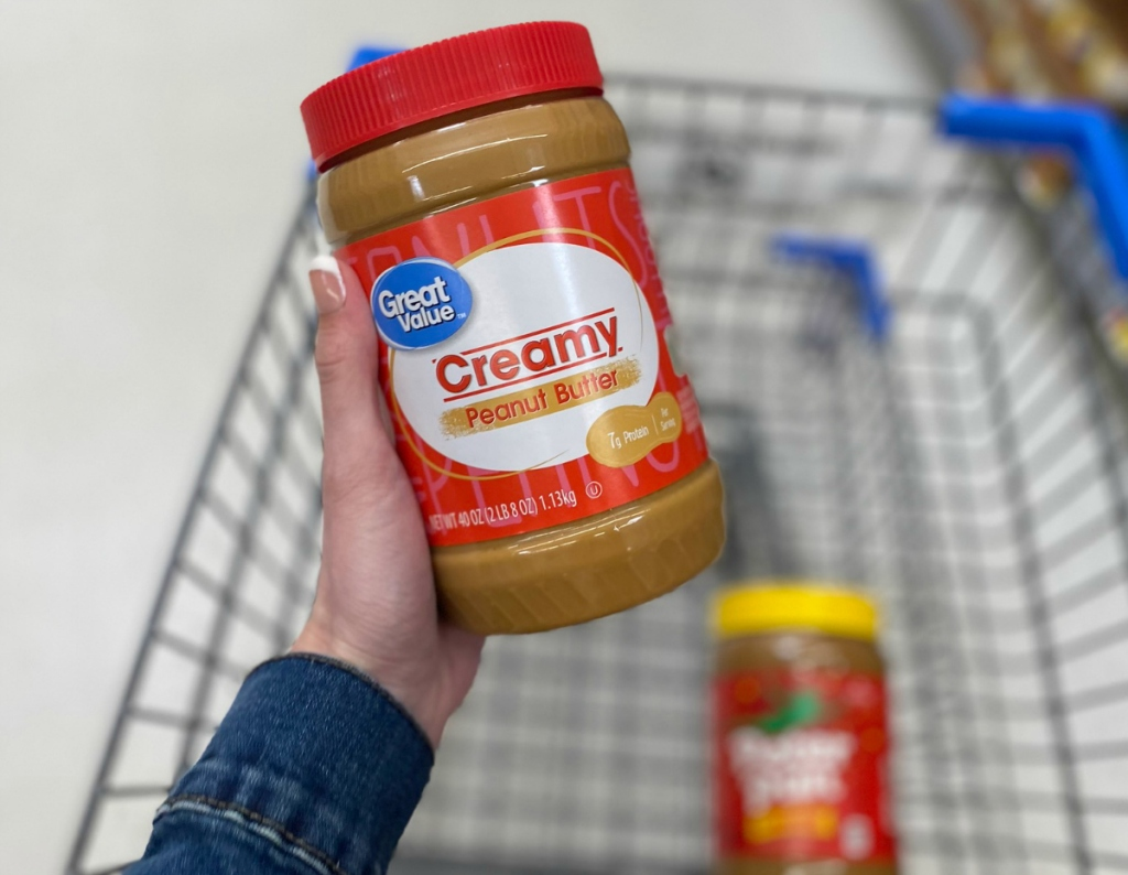 Great Value peanut butter