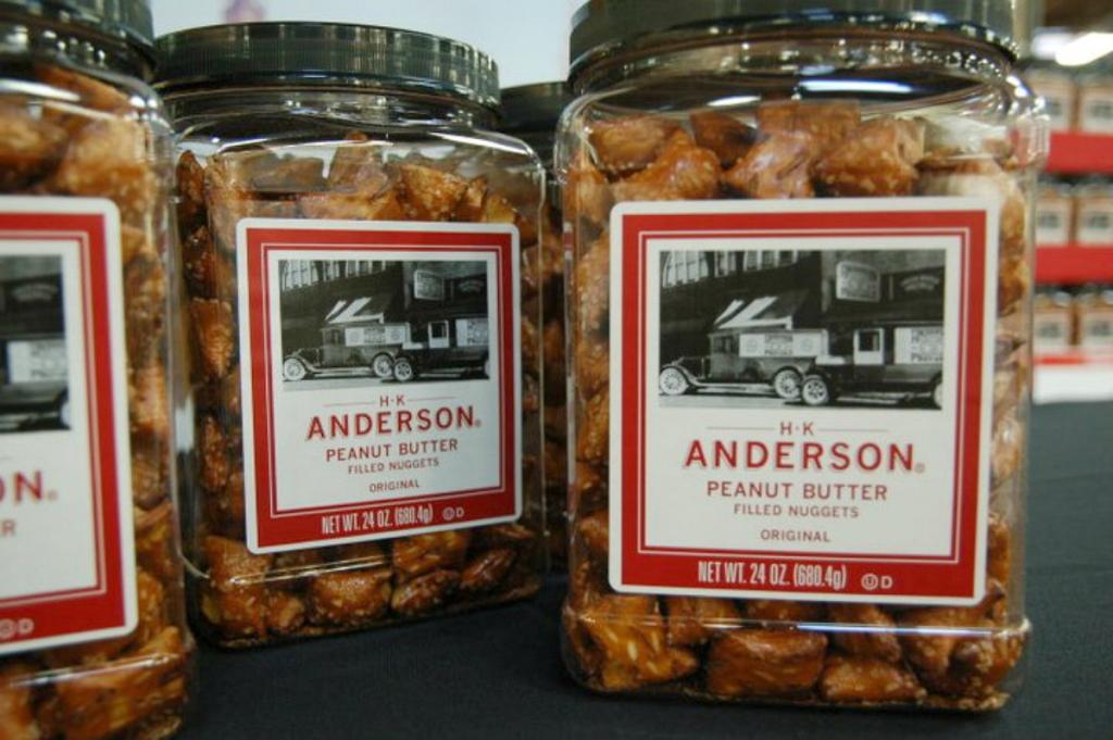 H.K. Anderson pretzels