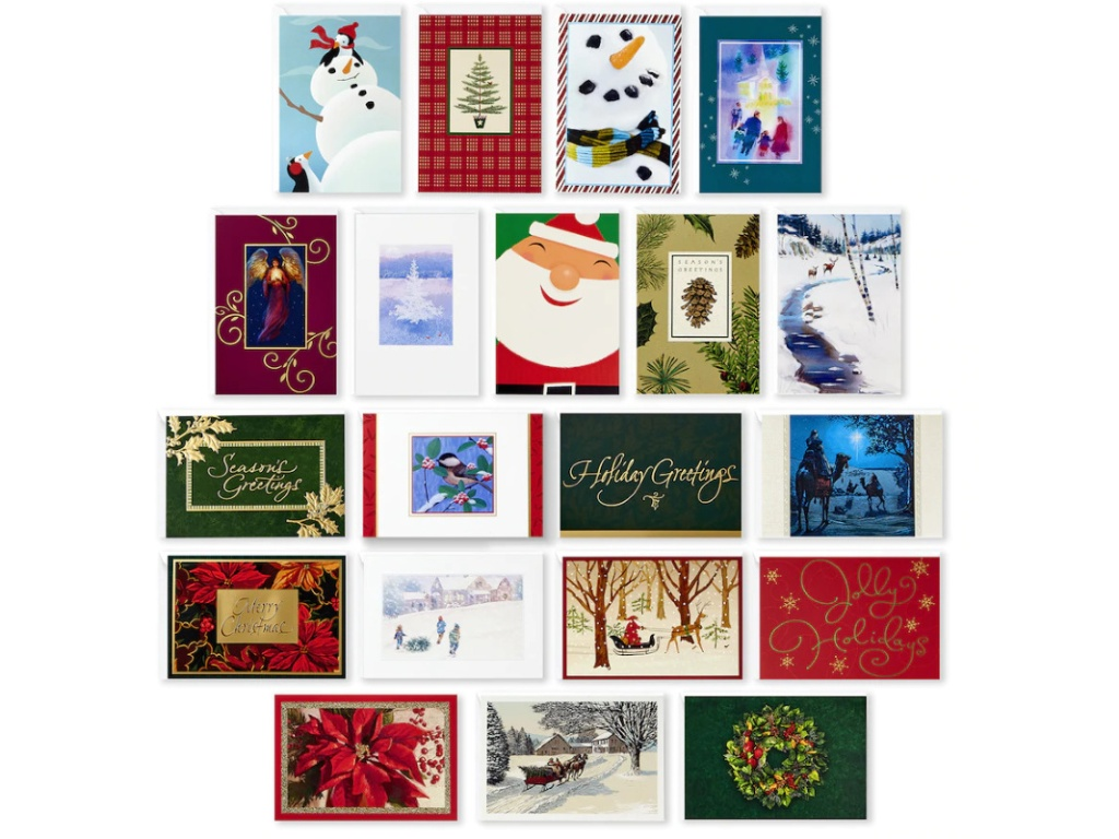 Assorted Christmas cards