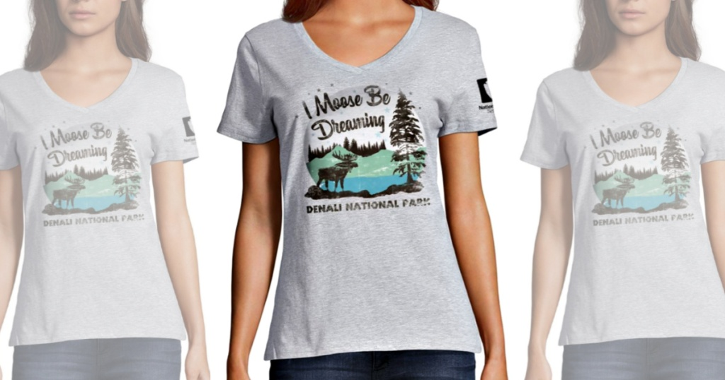 Hanes Denali National Park Women's Graphic Tee