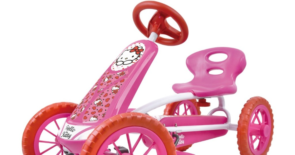 Hello Kitty pedal go kart