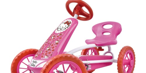 Hello Kitty Pedal Go Kart Only $49 Shipped on Walmart.com (Regularly $79)