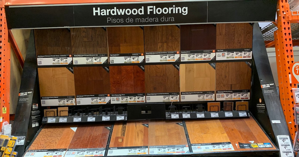 Home Depot Hardwood Click Lock Flooring