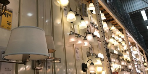 Huge Savings on Light Fixtures + Free Shipping on Home Depot