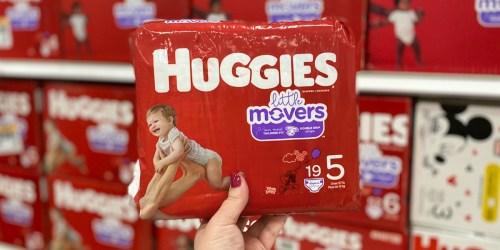 Huggies & Pampers Jumbo Pack Diapers as Low as $5.49 Per Pack at Target