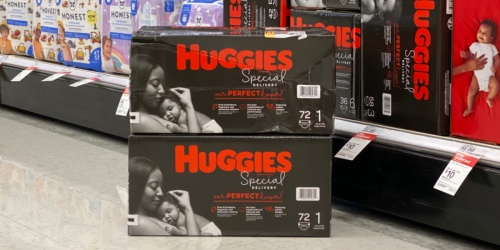 New High Value Huggies Coupon = Super Packs Only $13.99 Each After Target Gift Card