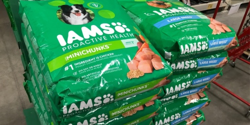 Buy Two 11lb+ Bags of Iams Dry Dog Food and Get Your Annual Vet Visit Reimbursed (Up to $200 Value)