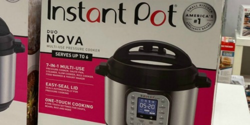 Instant Pot Duo Nova Pressure Cooker Only $59.99 Shipped on Target.com (Regularly $120)