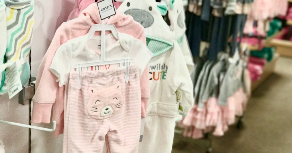 Carter's 3-piece baby set inside JCPenney store